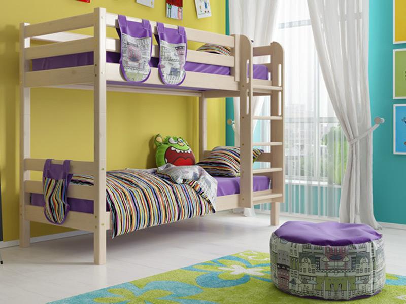 Двухъярусные кровати с горкой фото